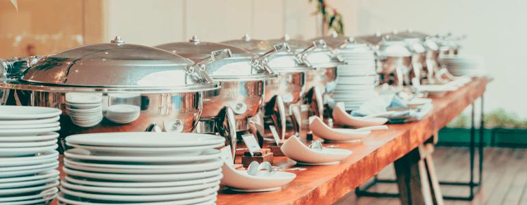 5 vantagens do buffet em domicílio