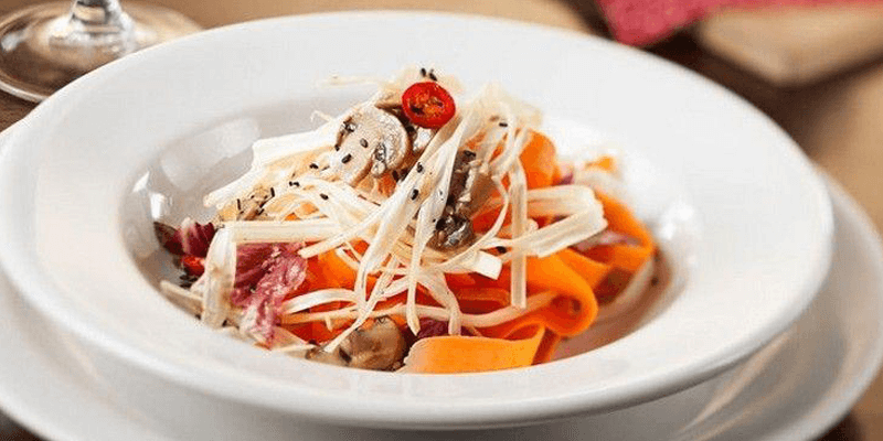 receita de salada de cogumelos