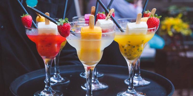 drink com picolé - casamento praia